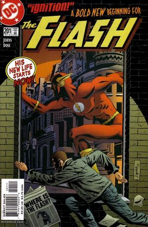 Cover for Flash #201