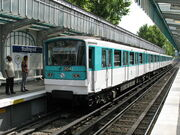 le-de-France RATP MF 67 n304 M2 Stalingrad