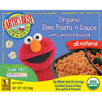Organic Elmo Pasta &#39;n Sauce with Carrots and Broccoli
