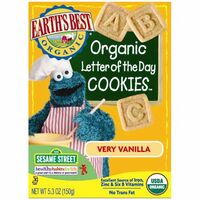 Very Vanilla Letter of the Day Cookies