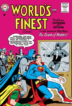 Cover for World's Finest #89