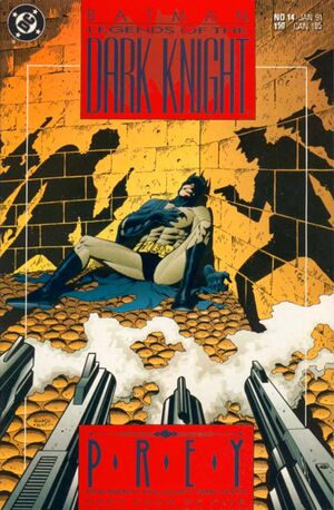 Cubierta para Batman: Legends of the Dark Knight # 14 (1991)