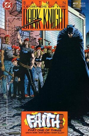 Cubierta para Batman: Legends of the Dark Knight # 21 (1991)