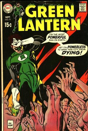 Cover for Green Lantern #71