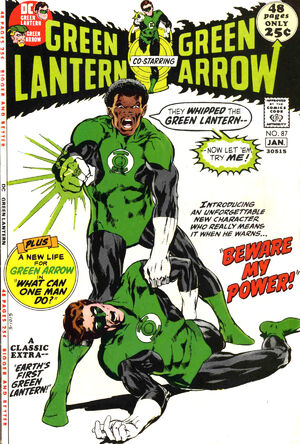 Cover for Green Lantern #87