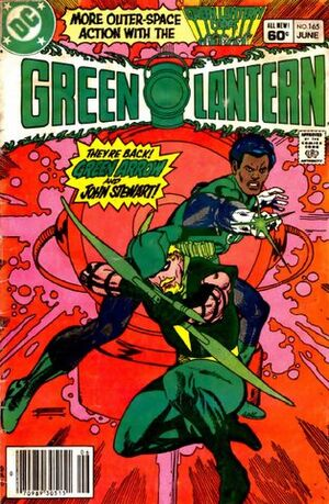 Cover for Green Lantern #165