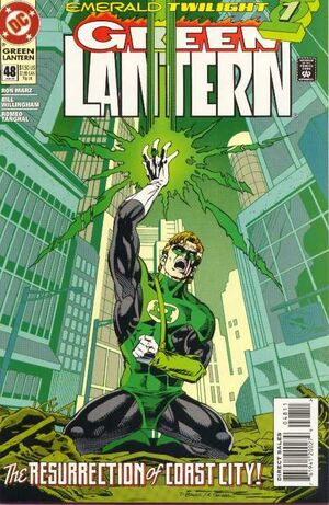 Cover for Green Lantern #48