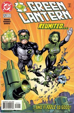 Cover for Green Lantern #121