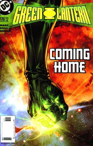 Cover for Green Lantern #176 (2004)