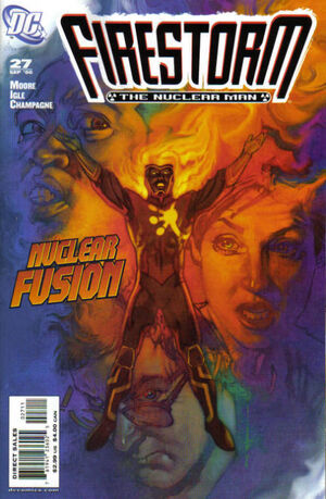 Cover for Firestorm #27