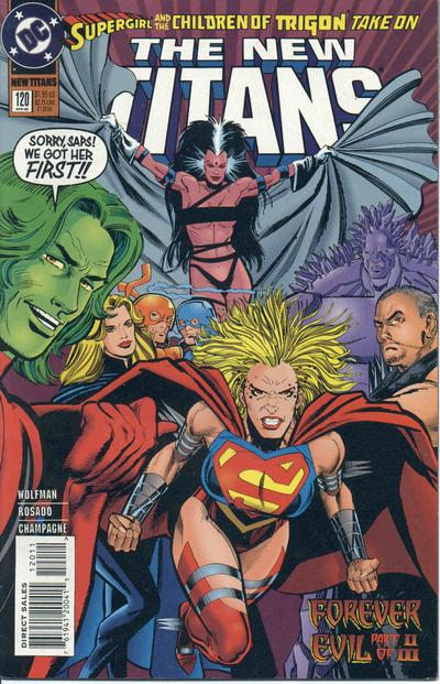 New Teen Titans Vol 2 120.jpg. New Titans Vol 1 #120