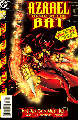 Cover for Azrael: Agent of the Bat #49