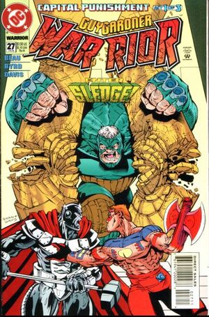 Cover for Guy Gardner #27