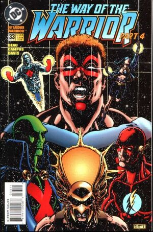 Cover for Guy Gardner #33