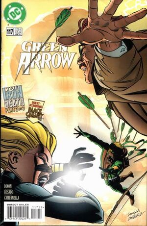 Cover for Green Arrow #117