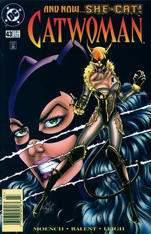 Cover for Catwoman #43