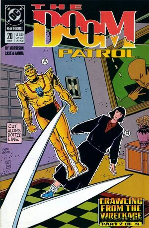 Cover for Doom Patrol #20