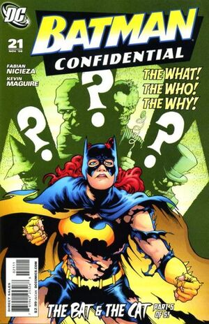 Cover for Batman Confidential #21 (2008)