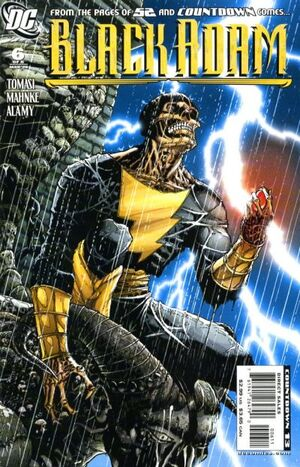 Cover for Black Adam: The Dark Age #6
