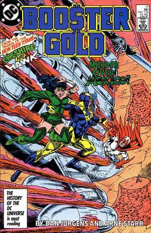 Cover for Booster Gold #17