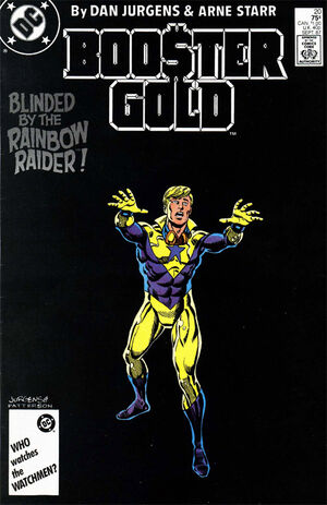 Cover for Booster Gold #20