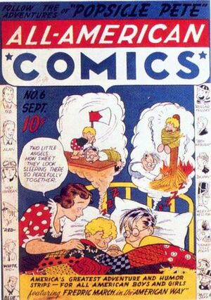 Cover for All-American Comics #6