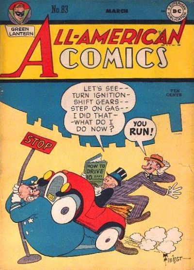 Cover for All-American Comics #83