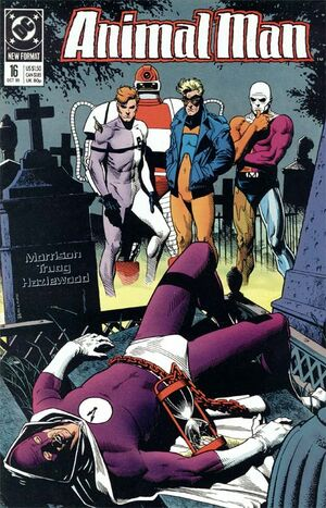 Cover for Animal Man #16