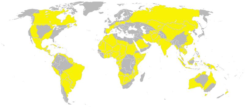 Zonas (ou áreas) Azul, Amarela e Vermelha Yellow_Zones