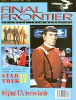 Final Frontier issue 4 cover