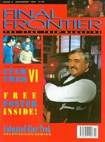 Final Frontier issue 5 cover