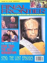Final Frontier issue 10 cover