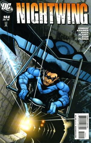 Cover for Nightwing #144