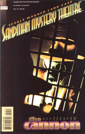 Cover for Sandman Mystery Theatre #59