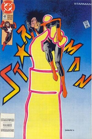 Cover for Starman #41