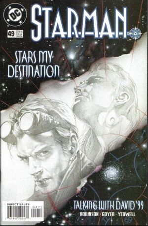 Cover for Starman #49