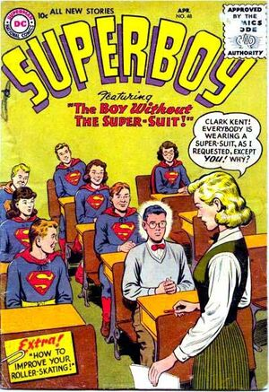 Cover for Superboy #48