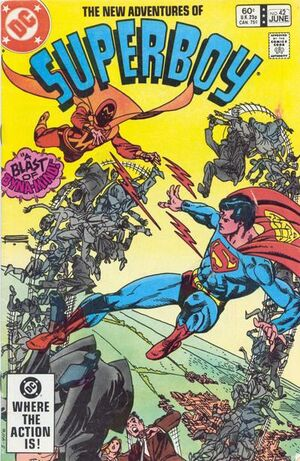 Cover for Superboy #42