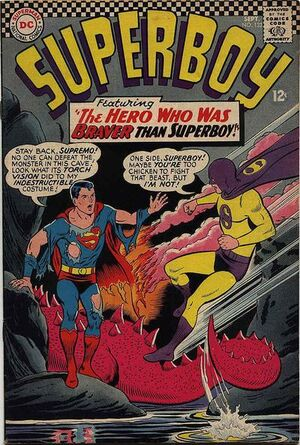 Cover for Superboy #132