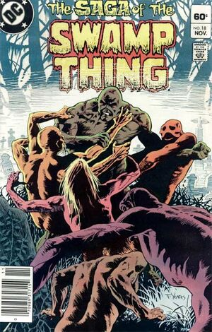 Cover for Swamp Thing #18