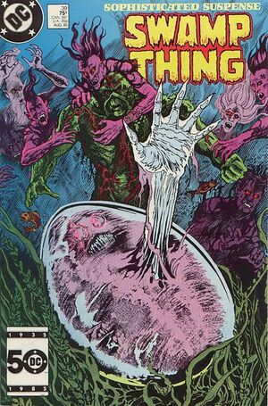 Cover for Swamp Thing #39