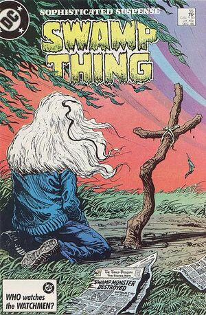 Cover for Swamp Thing #55