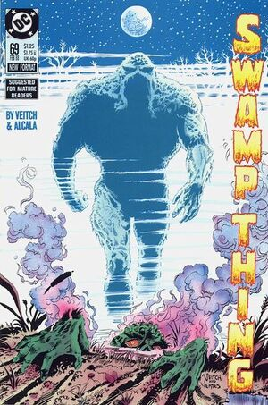 Cover for Swamp Thing #69