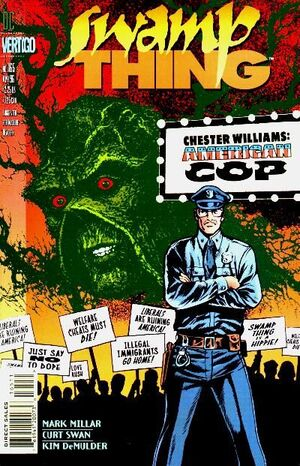 Cover for Swamp Thing #165