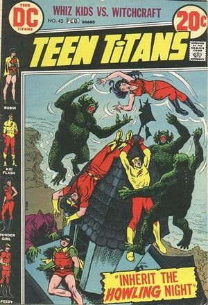 Cover for Teen Titans #43