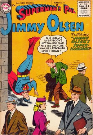 Cover for Superman's Pal, Jimmy Olsen #13