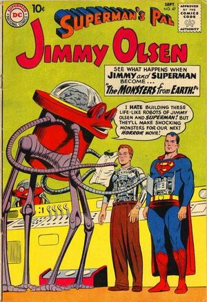 Cover for Superman&#39;s Pal, Jimmy Olsen #47