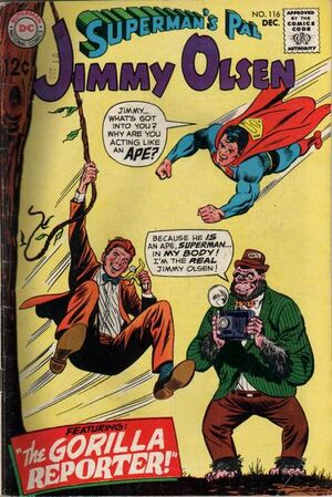 Cover for Superman&#39;s Pal, Jimmy Olsen #116