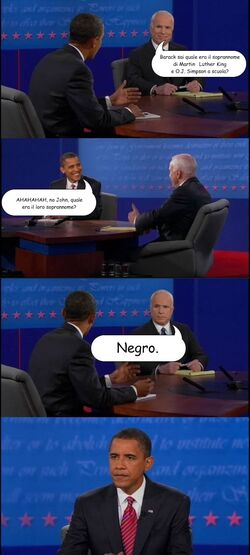 Dialogo obama mc cain