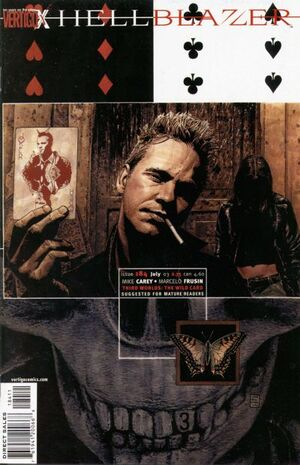 Cover for Hellblazer #184